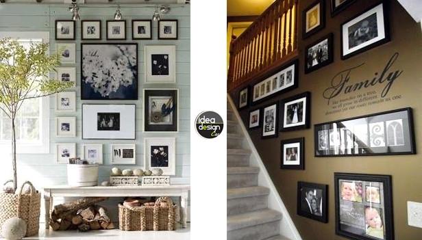 Decorare casa con le foto ecco 20 idee creative - Idee per decorare casa ...