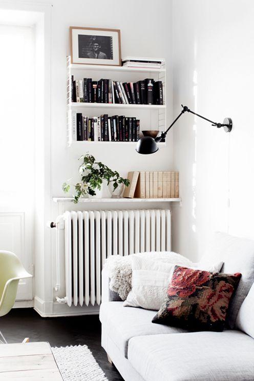 18 idee creative per decorare i termosifoni! Lasciatevi ispirare?