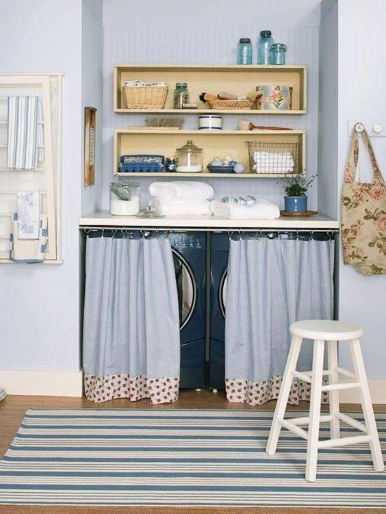 Nascondere la lavatrice dentro casa! 20 idee originali...
