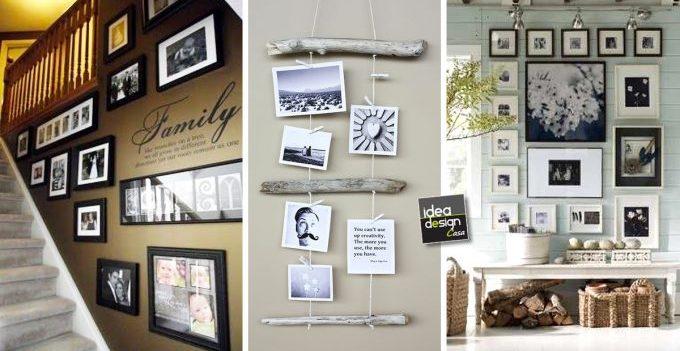 Decorare casa con le foto ecco 20 idee creative - Idee per abbellire la casa ...