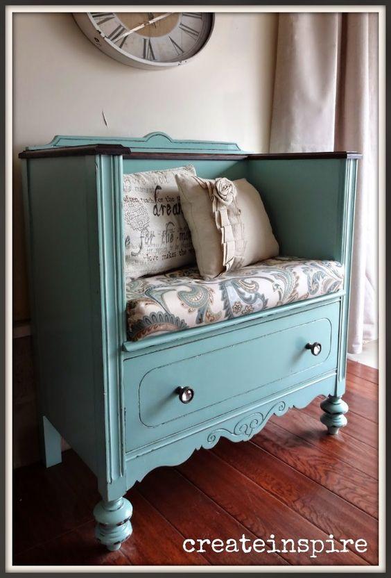 Trasformare un vecchio mobile in un bel divanetto 20 idee for Idea design casa