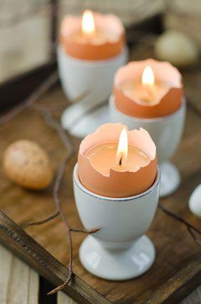 Riciclo creativo gusci delle uova