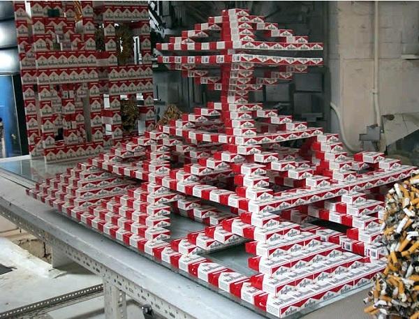 riciclare pacchetti sigarette vuoti 10