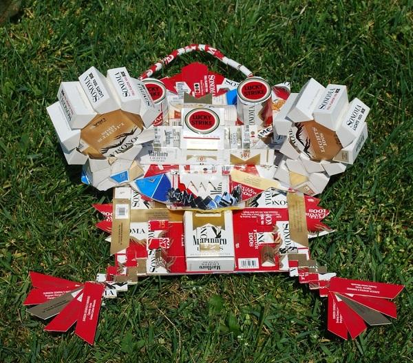 riciclare pacchetti sigarette vuoti 32
