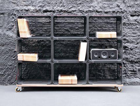 riciclo cassette della frutta in plastica 9