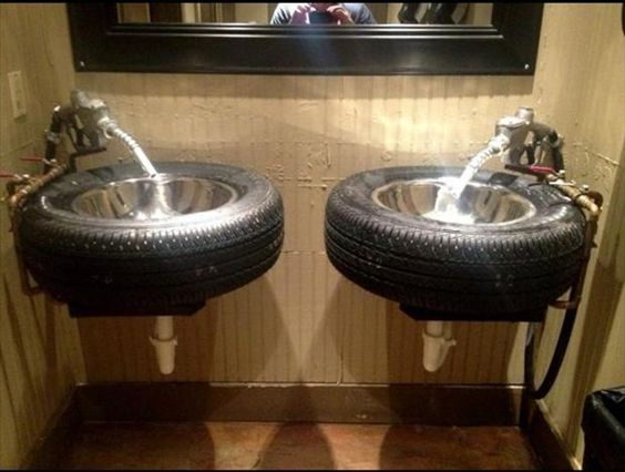 riciclo creativo pneumatici 12