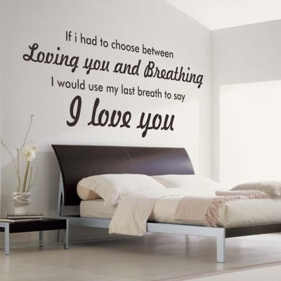 Decorative lettering in the bedroom! Here are 20 ideas ...