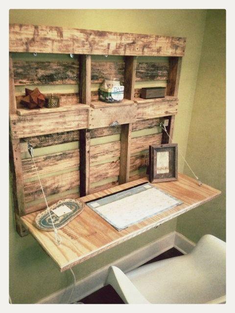scrivania con bancali 17