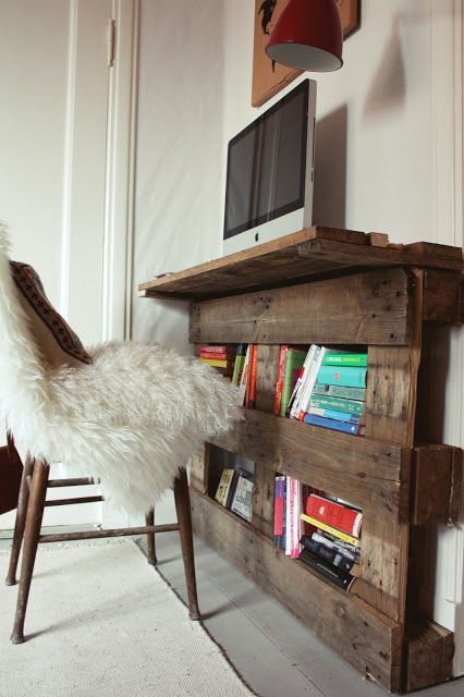 scrivania con bancali 19