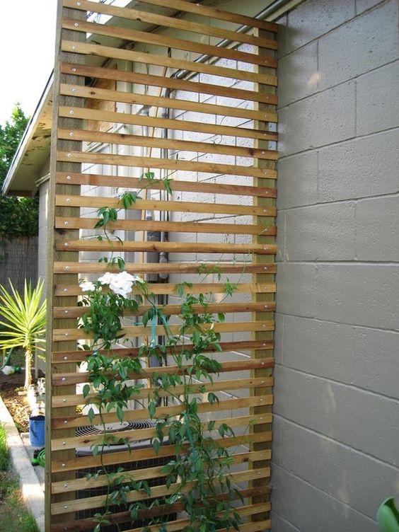riciclo creativo bancali per arredare giardino