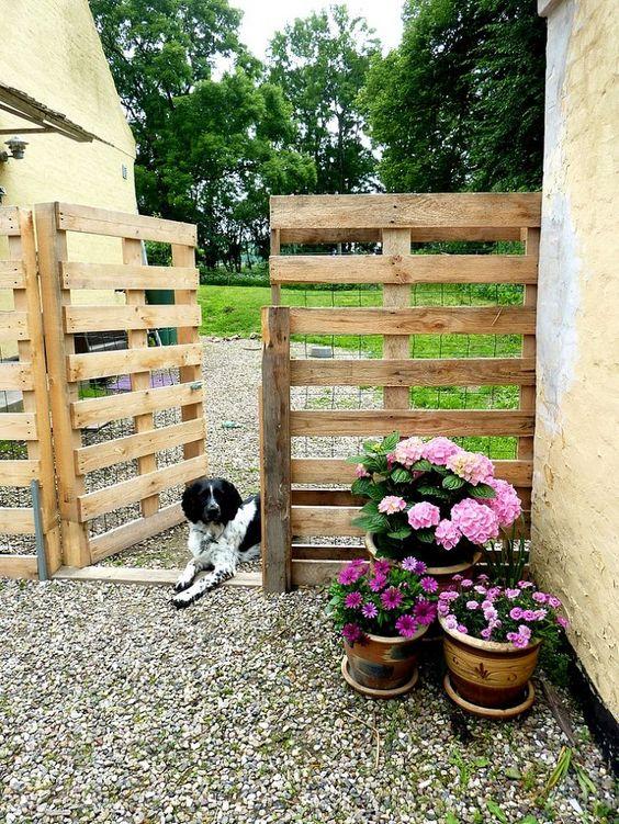 Arredare il giardino con i pallet 20 idee per un riciclo for Arredo giardino pallet