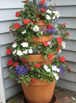 Decorazioni originali con i vasi in terracotta 20 idee - Decorare vasi terracotta ...