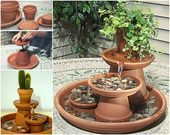 Diy Decorative Fountain For Living Room