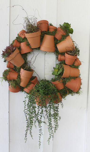 Decorazioni originali con i vasi in terracotta 20 idee for Idea design casa