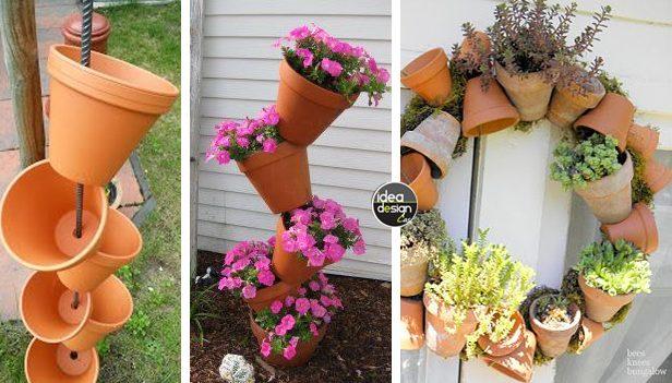 Riciclo creativo fai da te archivi - Decorare vasi terracotta ...