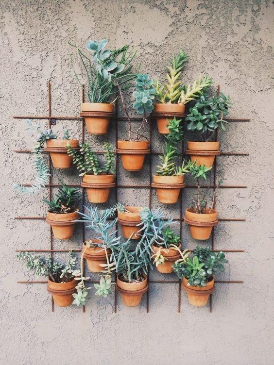 Decorazioni originali con i vasi in terracotta ecco 20 for Decorazione vasi