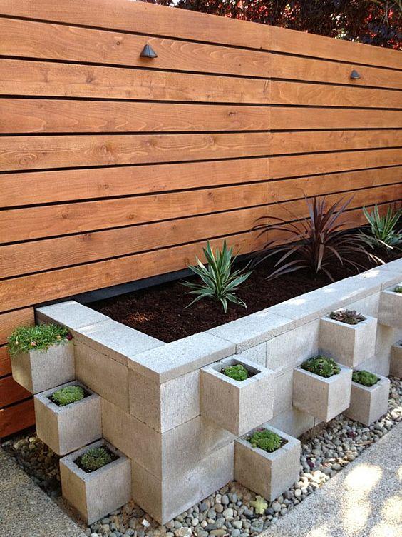 fioriera blocchi di cemento 11