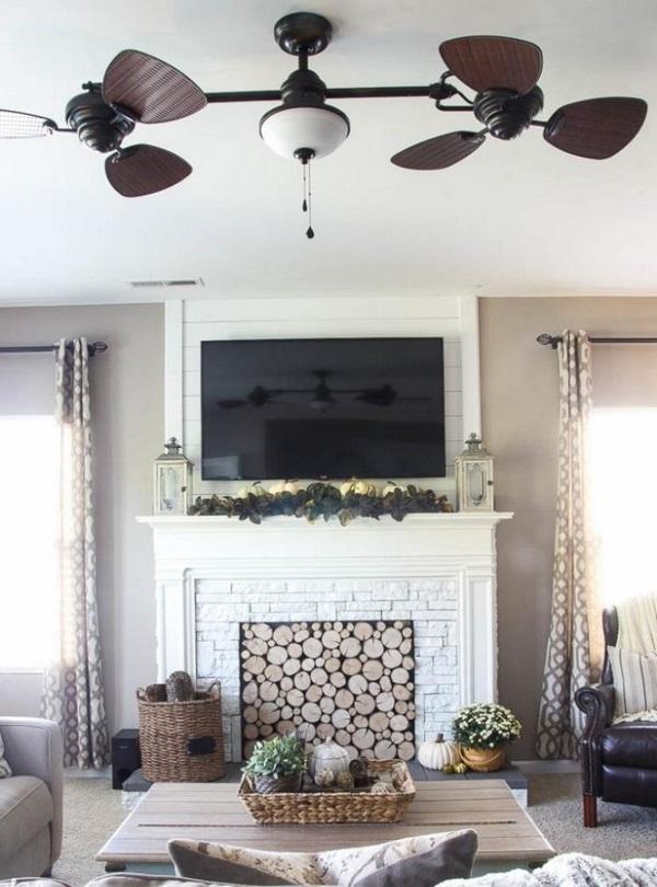 Decorare il camino d 39 estate ecco 20 idee creative - Idee per decorare casa ...