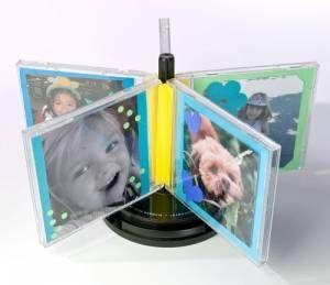 Riciclo creativo custodie dei cd