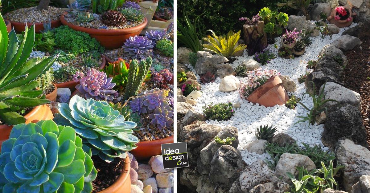 Aiuole creative ecco 20 bellissime idee - Idee per piccolo giardino ...