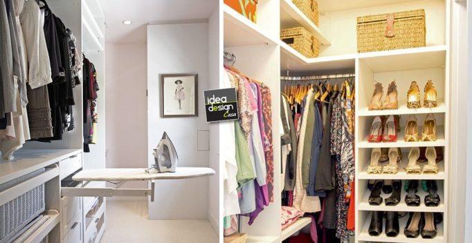 Organizzare una cabina armadio in un piccolo appartamento - Idee armadio camera da letto ...