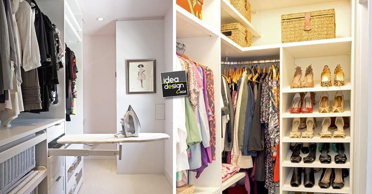 Organizzare una cabina armadio in un piccolo appartamento for Armadio piccolo