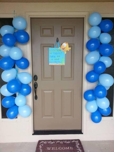 decorazione con palloncini 14