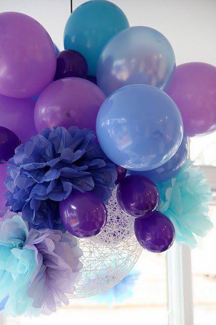 decorazione con palloncini 18