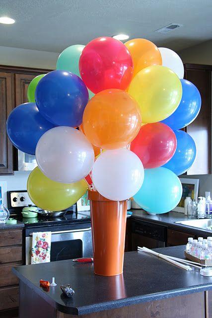 decorare casa con palloncini 20 idee