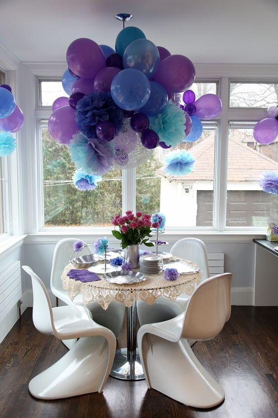 decorare casa con palloncini
