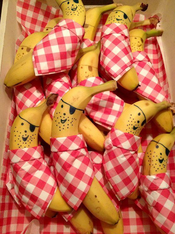 food art banane 6