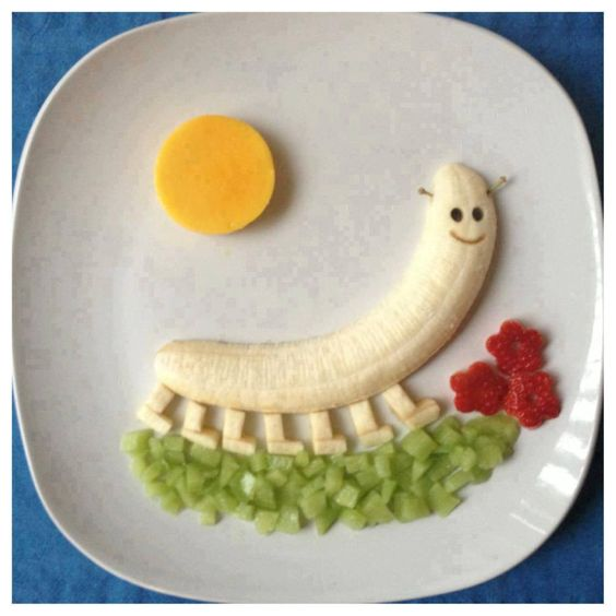food art banane 8
