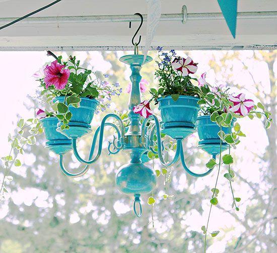 decorazioni originali con le piante
