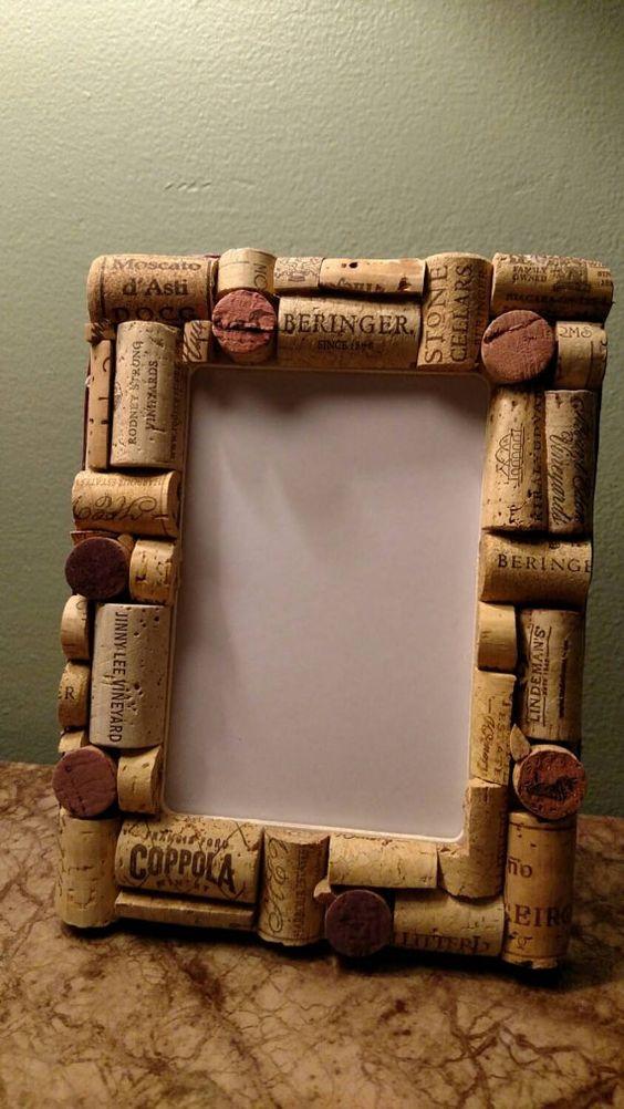 diy photo frame ideas pinterest - Creare con tappi di sughero 20 idee bellissime a cui