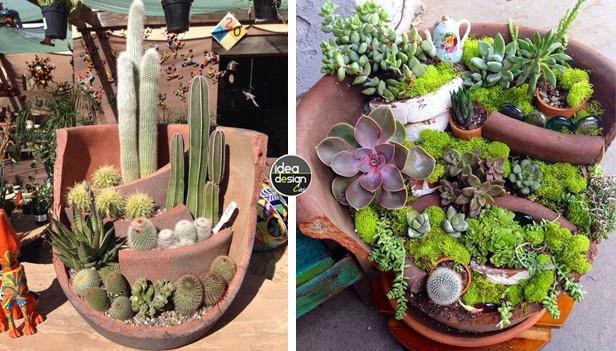 Creativo Arredamento Giardino : Fai da te con il riciclo creativo ...
