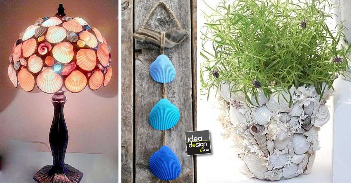Decorare con le conchiglie! Ecco 20 idee creative