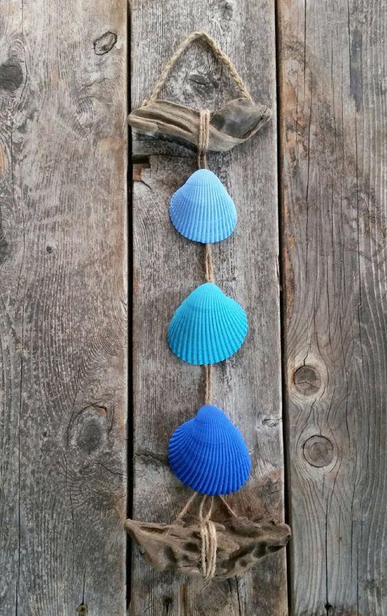 Decorare con le conchiglie ecco 20 idee creative for Arredamento marino fai da te