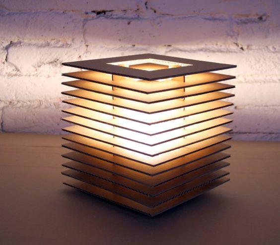 lampadari fai da te realizzati con il cartone! 20 idee -> Paralume Lampadario Fai Da Te