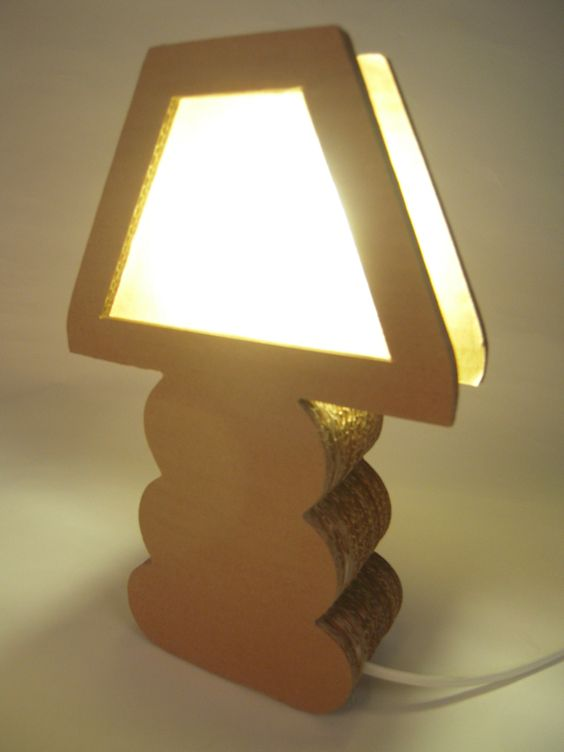 lampadari fai da te realizzati con il cartone! 20 idee -> Lampadario Cartone Fai Da Te