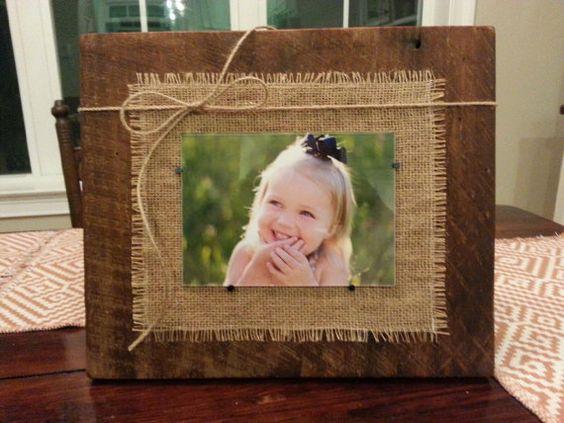 Eccezionale Portafoto fai da te con legno riciclato! 18 idee creative RQ14