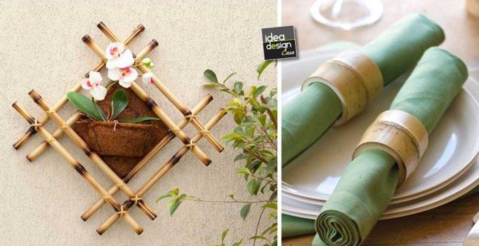 Decorazioni Fai Da Te Con Il Bambù! Ecco 20 Idee Creative