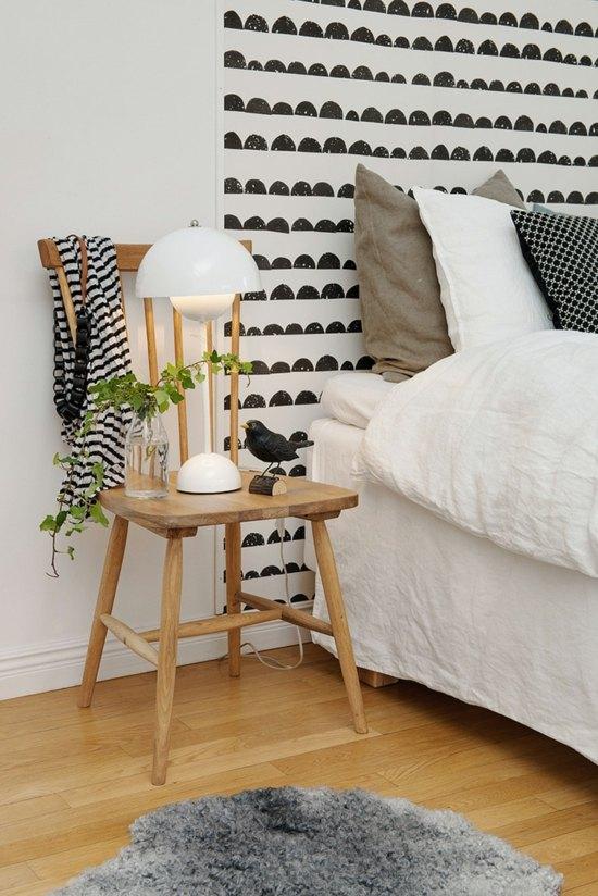 Creare un comodino alternativo in camera da letto