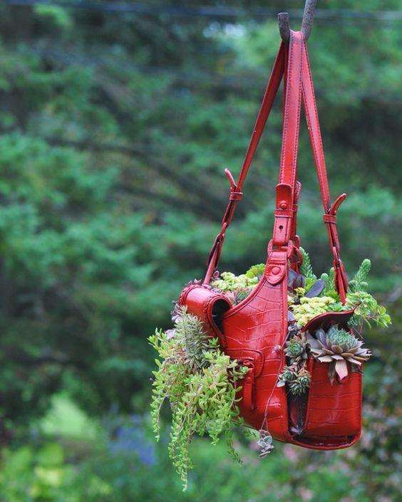 Riciclare e decorare con le piante