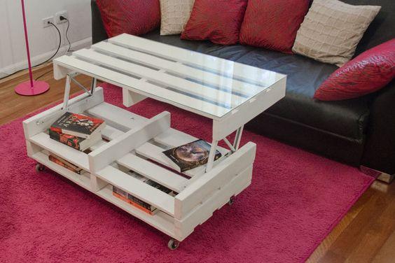 Una pequeña mesa con materiales reciclados! Presentamos 20 ideas ...