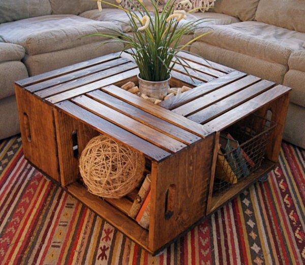 tavolino fai da te con riciclo 11