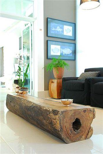 tavolo tronco fai da te 15
