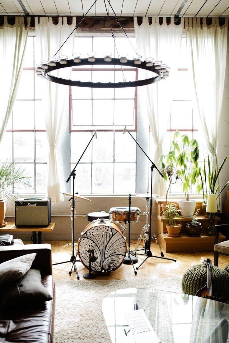 Decorare casa con strumenti musicali! Ecco 20 idee...