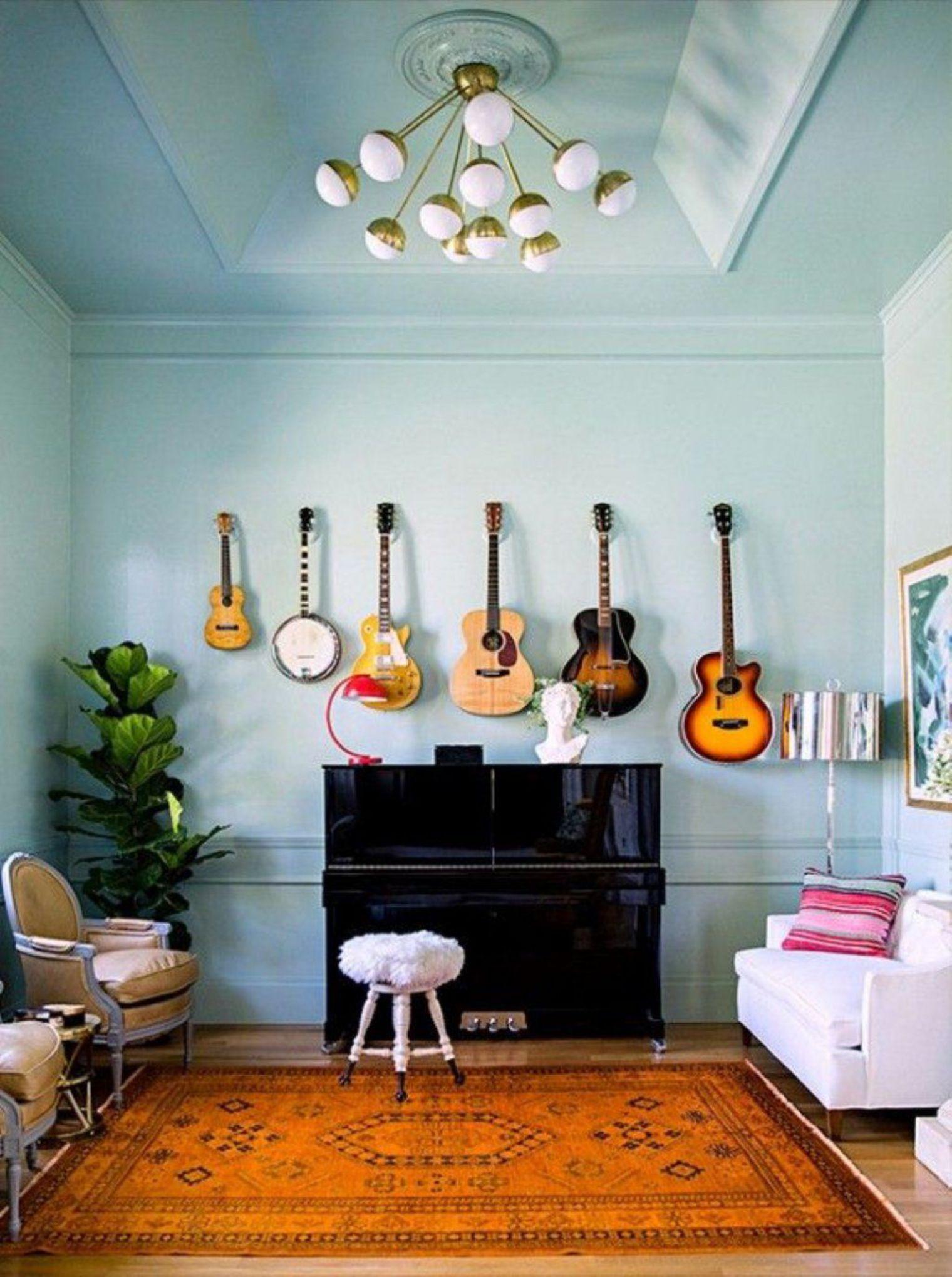 Decorare casa con strumenti musicali ecco 20 idee - Idea design casa ...