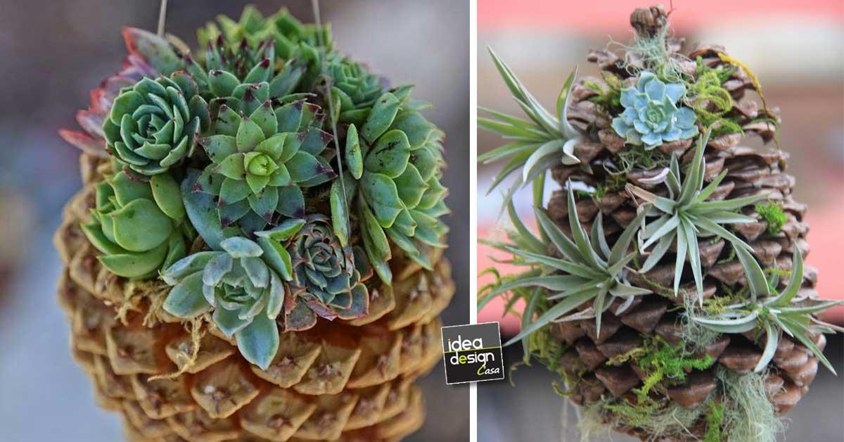 Pigna fiorita molto carino ecco 13 esempi - Decorazioni con pigne ...