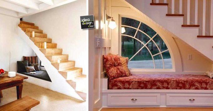 Un angolo relax nel sottoscala ecco 20 esempi - Cucina nel sottoscala ...